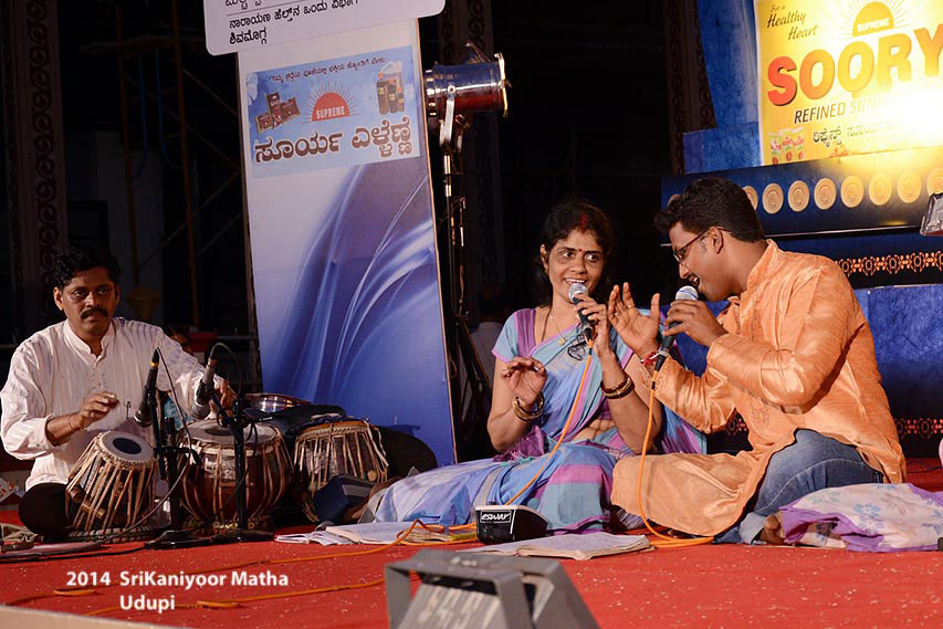 Devotional Music By Kalavati And Team On 11 Jan 2014