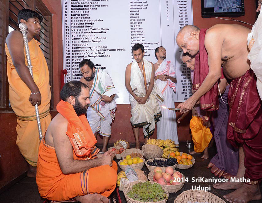 Felicitation At Sri Raghavendra Matha On 14 Jan 2014