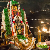 Abhisheka and Mahapooja to Lord Krishna